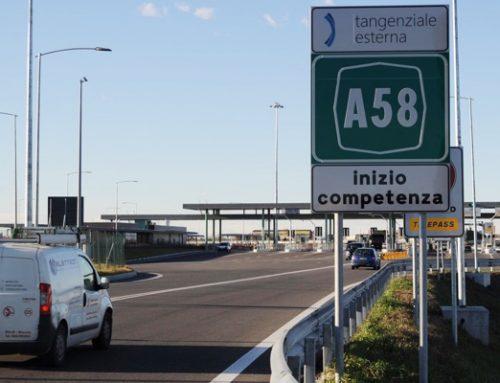 CASELLO A58-TEEM DI VIZZOLO PREDABISSI CHIUSO DALLE 21 DI STASERA ALLE 3 DI DOMANI
